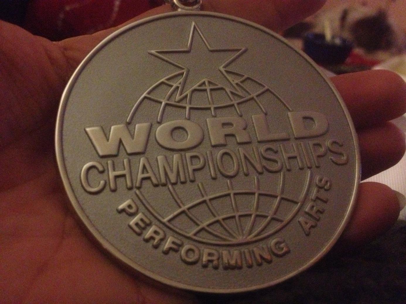 Ann-Helen Gamlesannes sølvmedalje fra WCOPA 2012